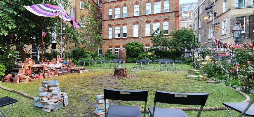 Set in St Paul's Church garden