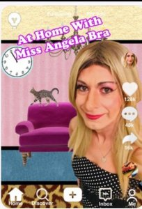 Promotional image for At Home With Angela Bra