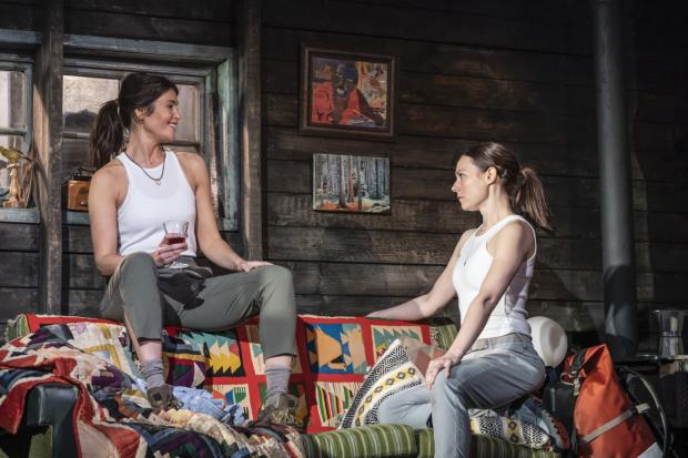 Gemma Arterton and Lydia Wilson in Walden