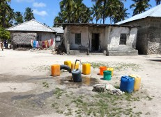 The village only gets 2 hours of water a day