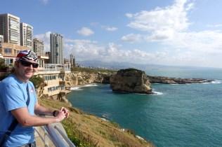 Walking along the Corniche to Pigeon Rocks