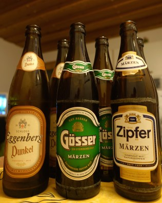 Sample the local beers