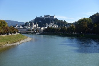 River Sazach and the old town