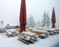 Snow on Grünberg