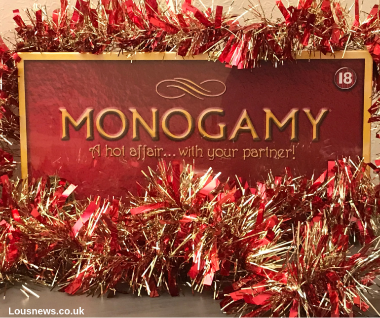 Monogamy Christmas board game gift