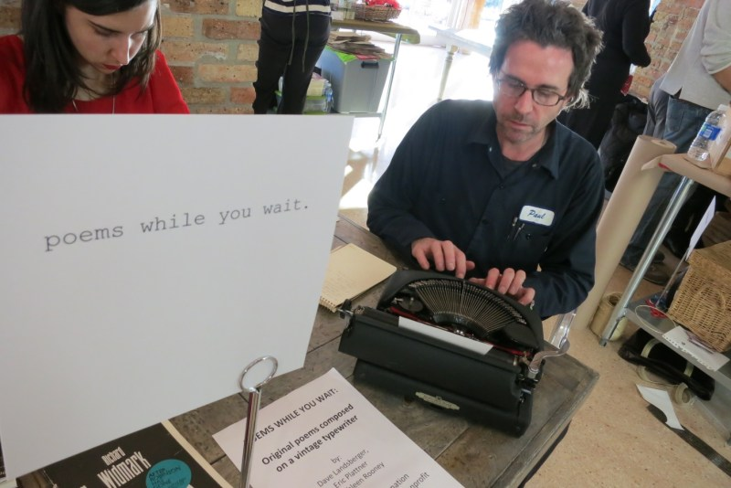 Poems While You Wait at Dose Market