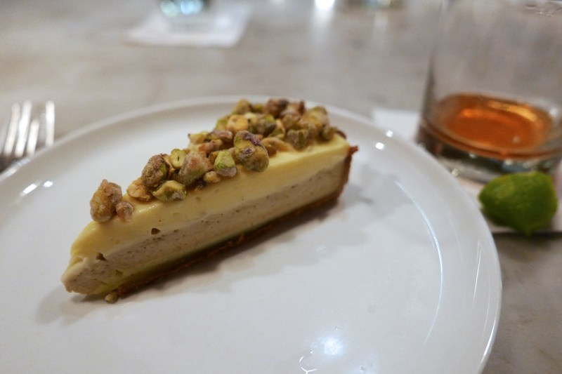 Meyer Lemon Tart, Pistachio, Olive Oil