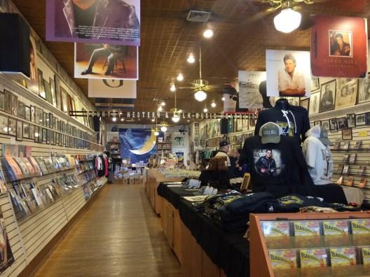 Music shops everywhere