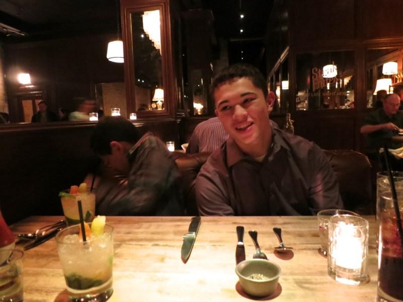 Dinner at Bavette's Bar & Boeuf