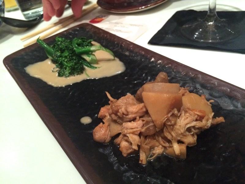 Mushroom and Broccoli Kinpira