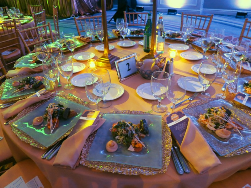 Dinner at Grand Chefs Gala