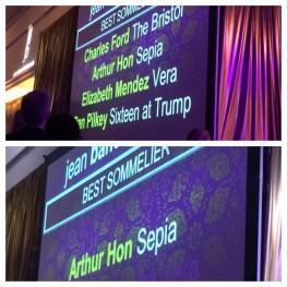 Best Sommelier: Arthur Hon (Sepia)