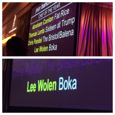 Chef of the Year: Lee Wolen (Boka)