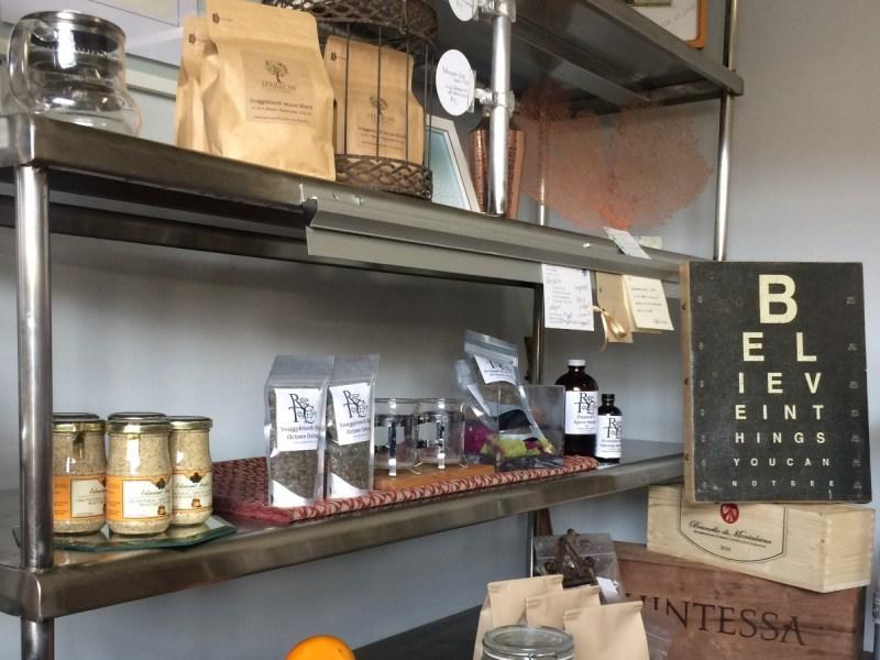 Sparrow Coffee and Rare Tea Cellars tea at Snaggletooth