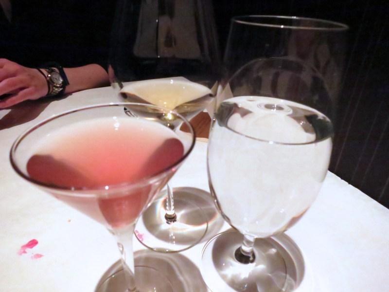 Pear Brandy, Cocchi Rosa, grapefruit