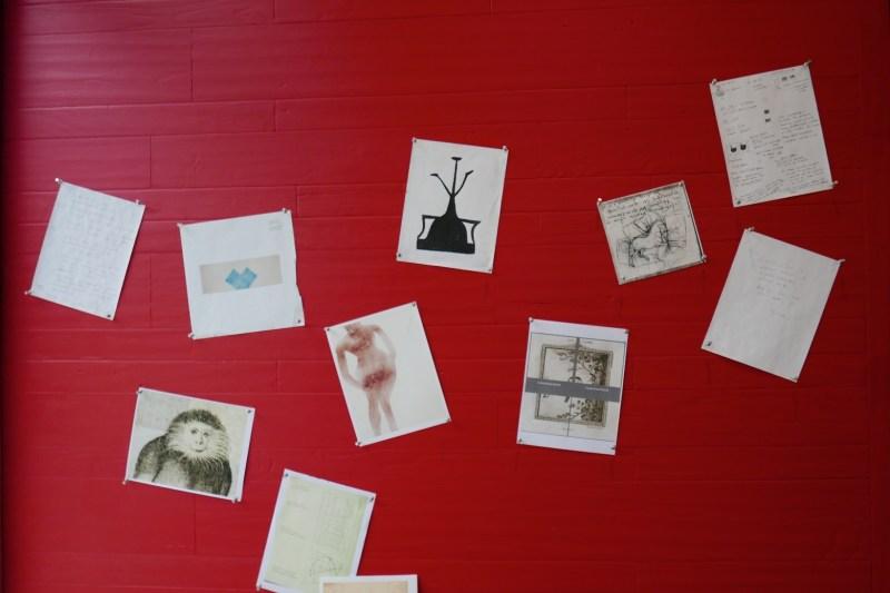 Thinking stage pieces by Adam Siegel