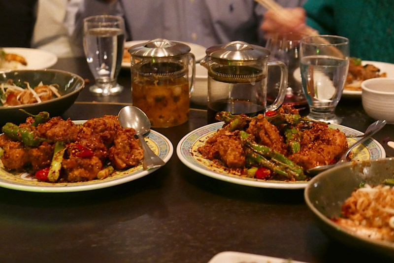 Chongqing Chicken, Sichuan-style chicken with chilis