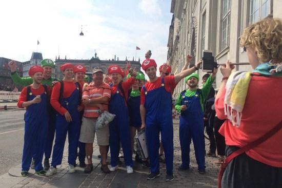Marios and Luigis