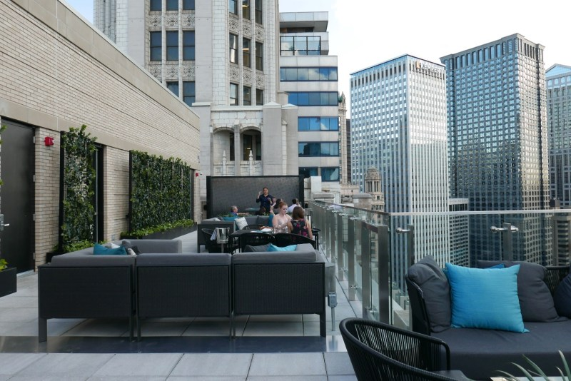 LH on 22. London House's outdoor terrace