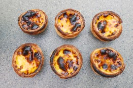 Portuguese Custard Egg Tart. I bet you can't eat just one.