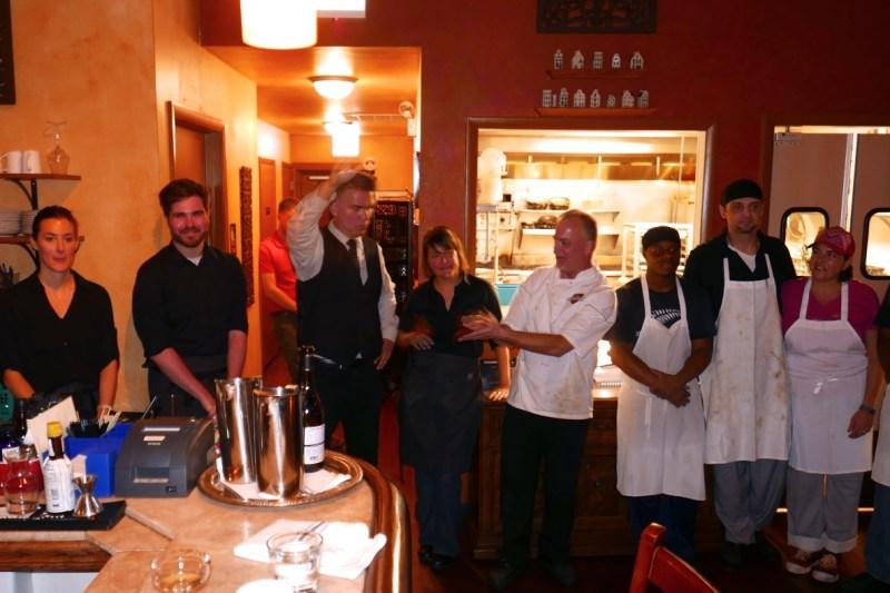 Wonderful staff at de Quay