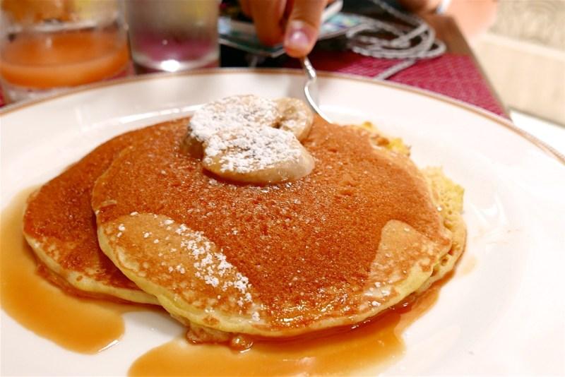 Short Stack Pancakes, Caramelized Banana, Butterscotch