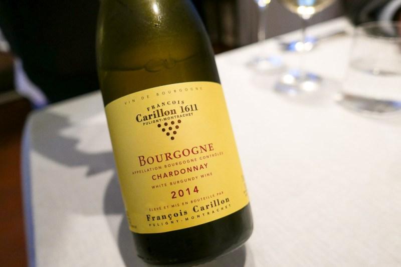 2014 Francois Carillon Bourgogne Chardonnay, Burgundy, France