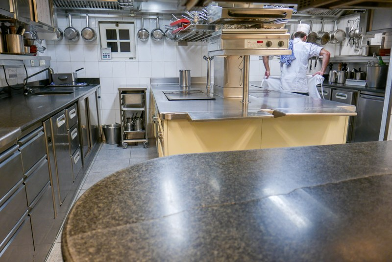 Kitchen at Hof Van Cleve
