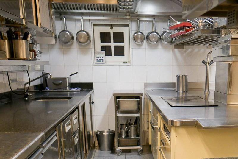 Kitchen at Hof Van Cleve