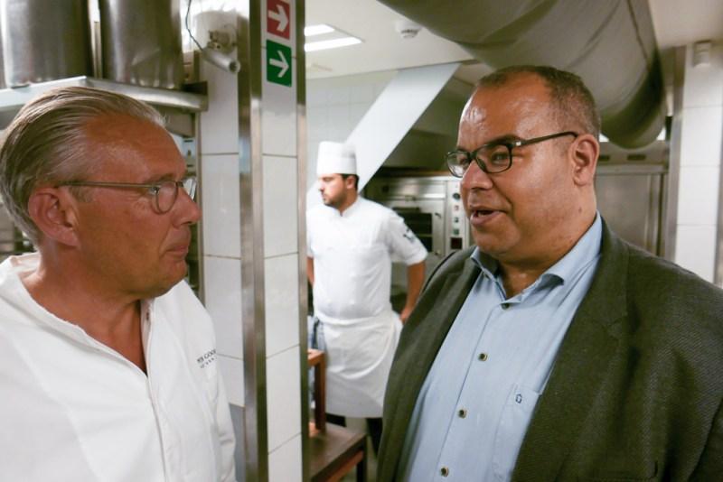 With Peter Goossens of Hof Van Cleve