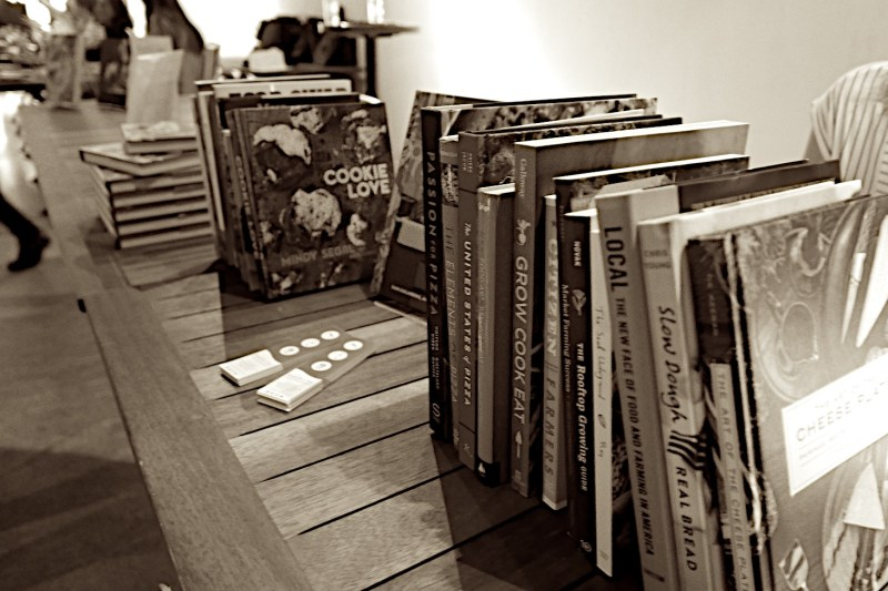Books for sale and author signings Taste Talks Chicago