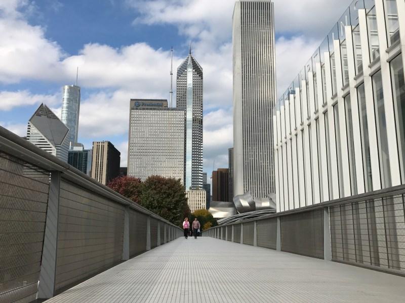 Modern Art Wing bridge