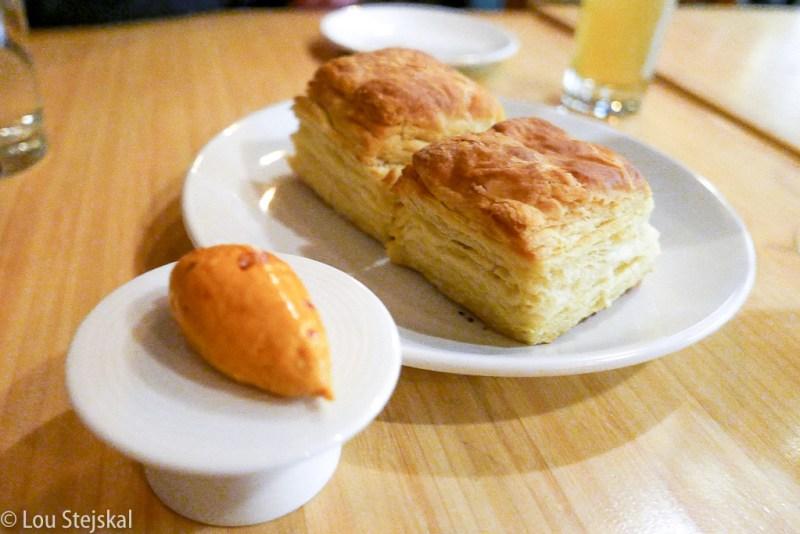 Buttermilk Biscuit, seasonal butter