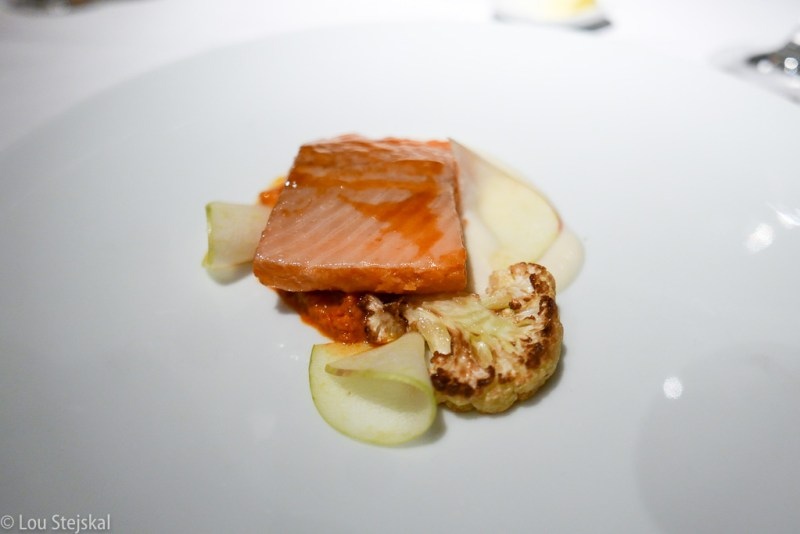 Arctic Char, Cauliflower, Apples, Chilies,