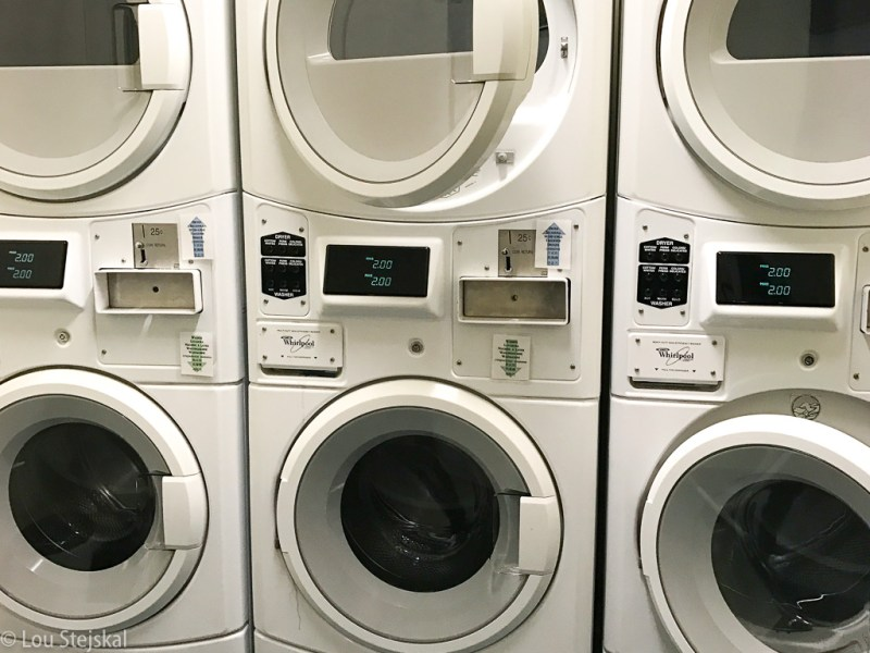 Laundry facilities for Freehand Chicago guests