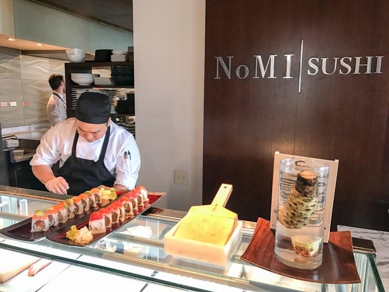 Sushi at NoMI