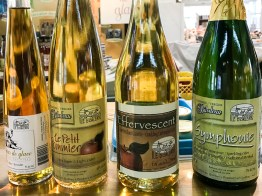Quebec has six cider-producing regions which has had recent popularity, even with young adults.