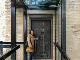 This holy door was open from December 8, 2013 until December 28, 2014. It opened again from December 8th, 2015 to November 20th, 2016 and will be sealed until 2025.