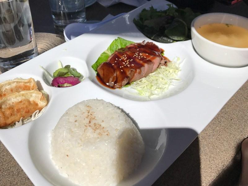 Teriyaki Beef Bento ($15)