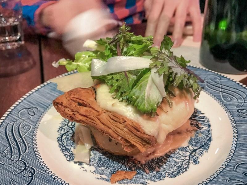 Escargot Tart ($10)