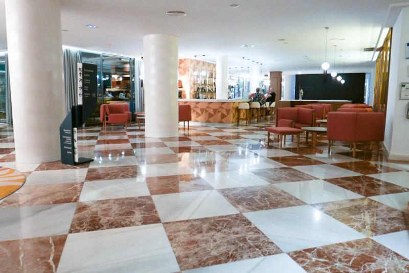 Lobby at Palladium Hotel Palmyra