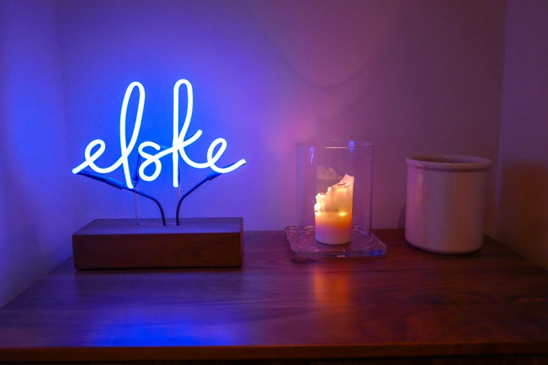 Simple, warm touches throughout Elske