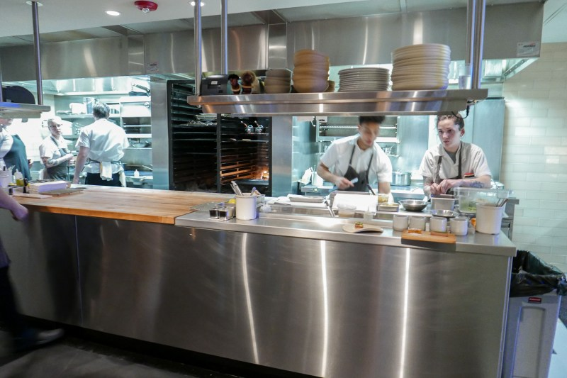 Kitchen at Elske