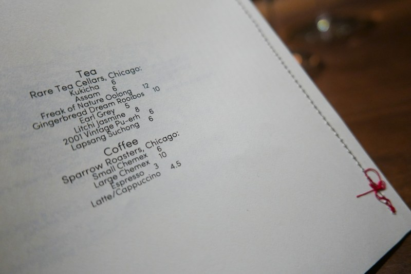 Rare Cellars Tea and Sparrow Roasters Coffee at Elske