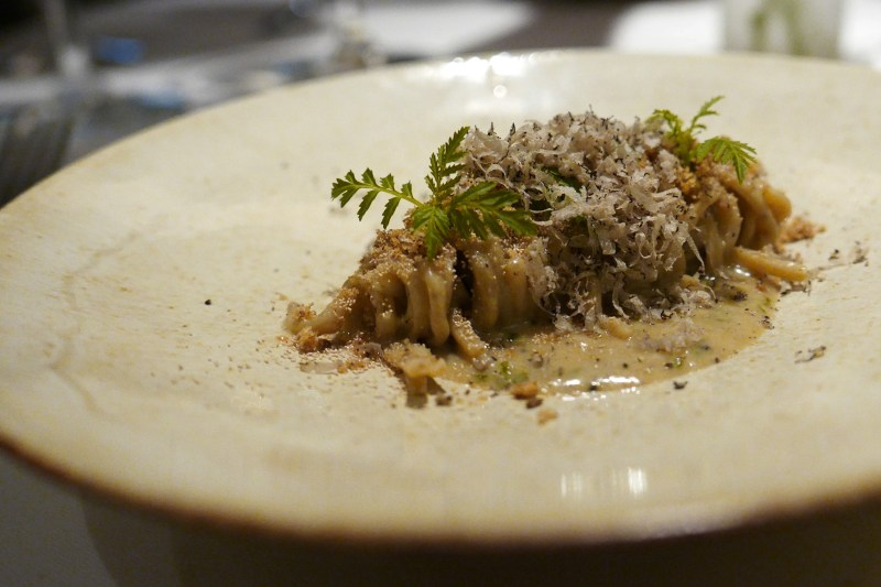 CAPELLINI italian summer truffle, rye berry and yeast