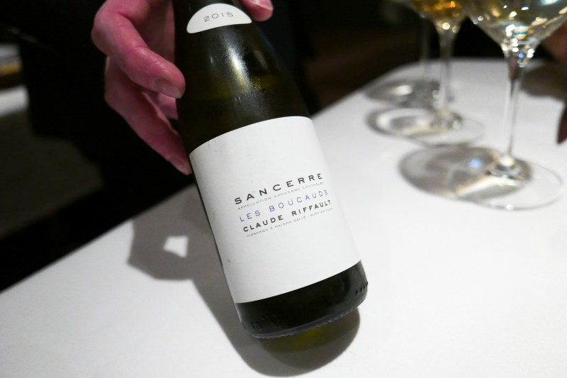 "SANCERRE Claude Riffault, ""Les Boucauds,"" Loire Valley, France 2015"