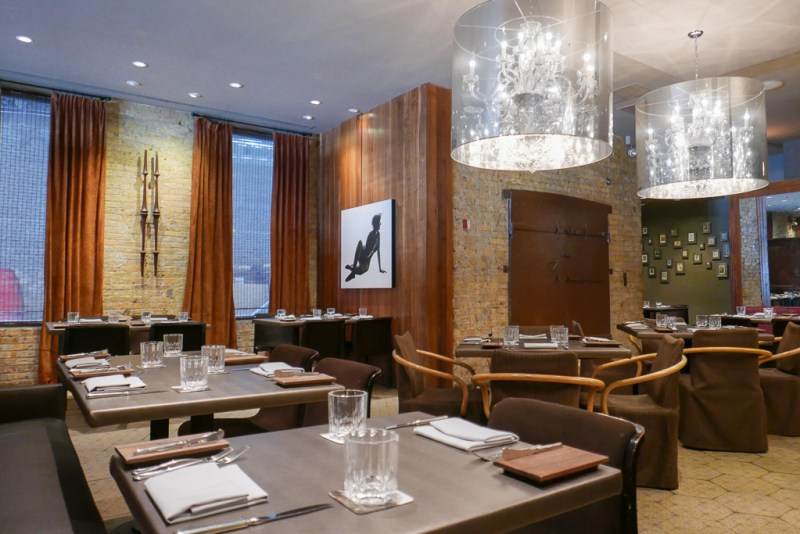 Dining room at Sepia