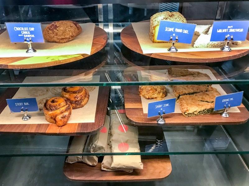 Pastries at Flora Bar