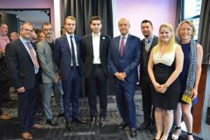 Le comité Agis pour la France au Canada, organisateur de la rencontre avec Alain Juppé