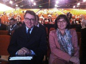 Jean D'Amour et Annick Girardin (crédit: Québec en France)